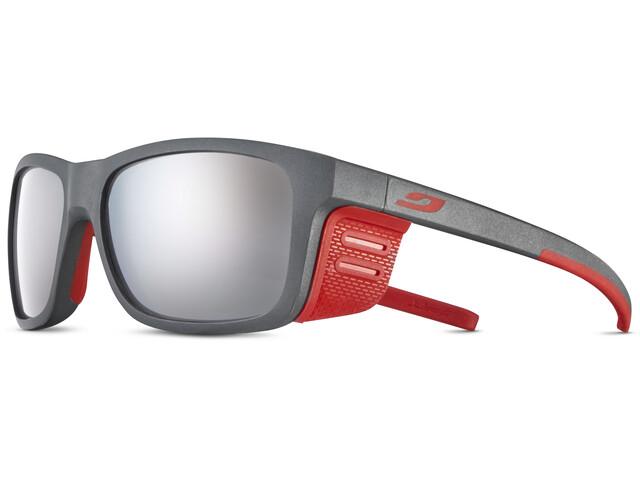 Julbo Cover Spectron 4 Okulary przeciwsłoneczne Dzieci, szary/czerwony